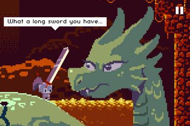 像素风举措闯关游戏《最深之剑》游侠专题站上线