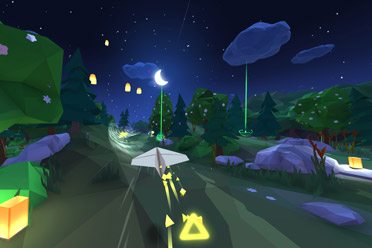 3D纸飞机飞翔摸索冒险游戏《Lifeslide》专题上线