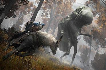 《艾尔登法环》官网更新情报 骑上战马与敌人作战!