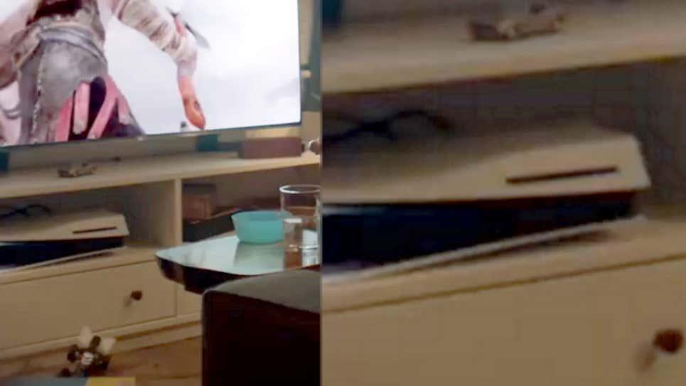 坏了给自己整晕了 PS5主机倒放被发现索尼删除视频