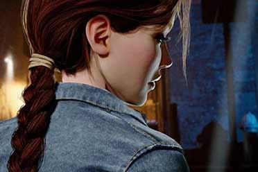 粉丝虚幻4重制《古墓丽影6》!劳拉妹子3D建模太美了