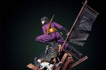 CDPR推出叶奈法主题雕像:紫色忍者服勾勒傲人身材!