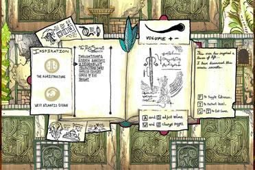 手绘奇异平台冒险游戏《存在》游侠专题站上线