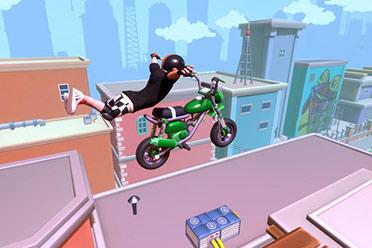 摩托车竞速游戏《优游平台会绝技摩托奢华版》游侠专题站上线