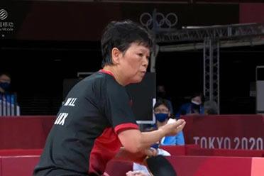 奥运乒乓球史上年数最大的参赛者 上海姨妈五战奥运