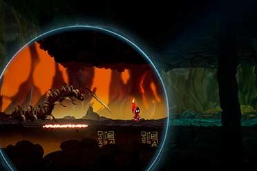 2D平台腾跃解密游戏《游离于天下之海》已在Steam出售
