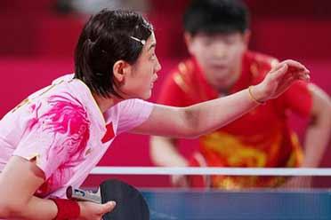 第15金!从0-1到4-2陈梦奥运女单决赛战胜孙颖莎夺金