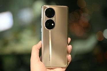 华为P50 Pro可可茶金实拍图欣赏!双环后置摄像