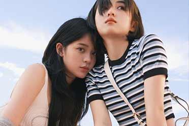 欧阳娜娜&张子枫合体:清纯娇妹子!夏日写真还你清凉