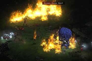 IGN《暗黑2重制版》新演示:德鲁伊优游平台队刷怪 战役酷炫