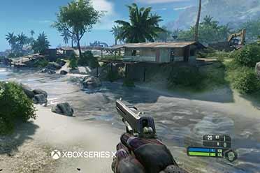 《孤岛危急:三部曲》vs Xbox360原版游戏 画面对照视频