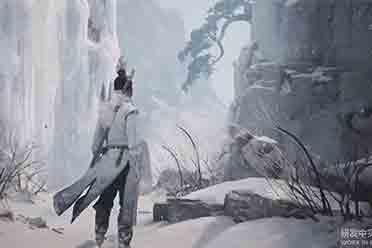 《剑侠情缘之谢云传播》优游平台然新实机 漫天雪地踏竹而行