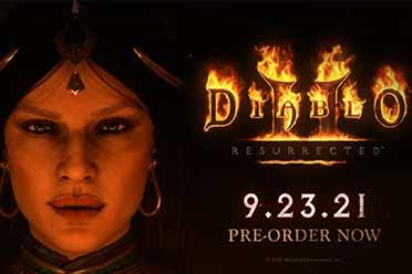 元素魔法的魅力!《暗黑2:重制版》「女巫」预报片