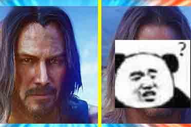 游戏脚色变脸真人抽象 银手AI换脸是不是仍是基努里维斯