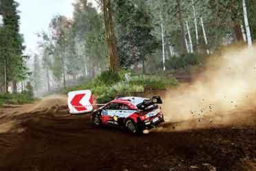 竞速新作《WRC 10》IGN 8分 极佳的猖狂拉力赛车休会