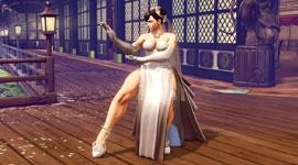 《街头霸王5》婚纱装春丽演示