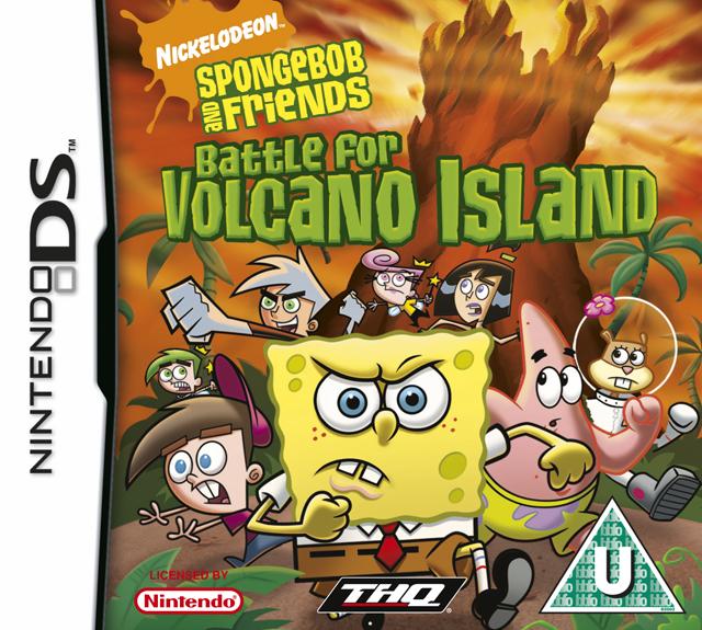 海绵宝宝和他的朋友们 火山岛之战