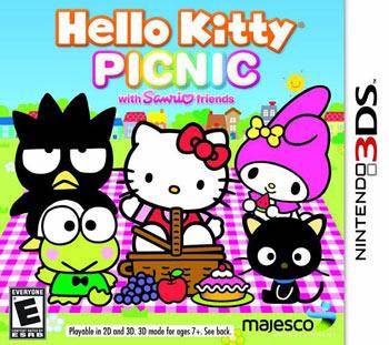 凯蒂猫野餐with三丽欧的朋友