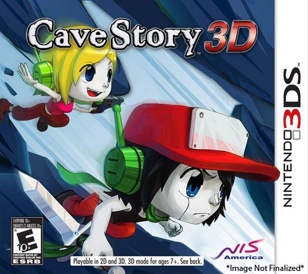 《洞窟物语3D》欧版