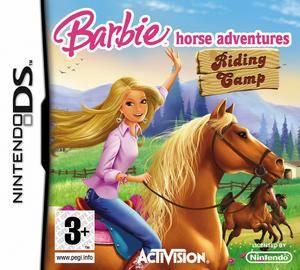 芭比马术冒险骑术野营