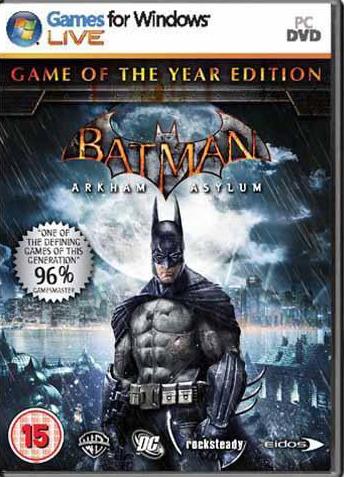 《蝙蝠侠之阿卡姆疯人院》日版