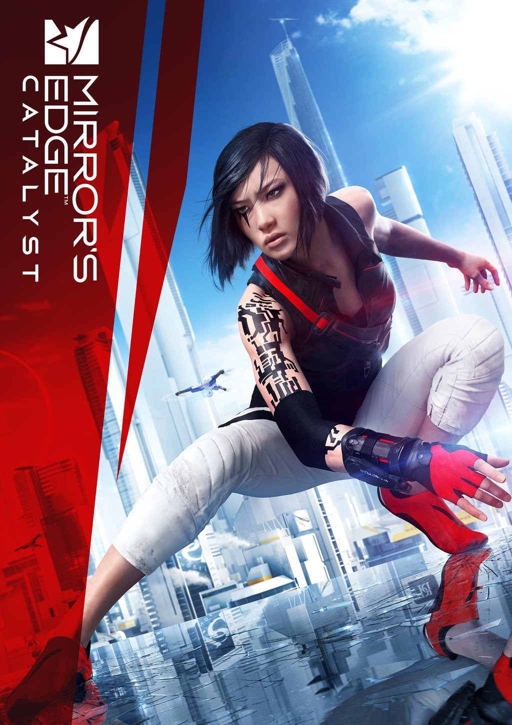 Mirrors_Edge_MirrorsEdgeartwork半拍同学采集到壁纸丶