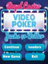 皇家赌场:视频扑克