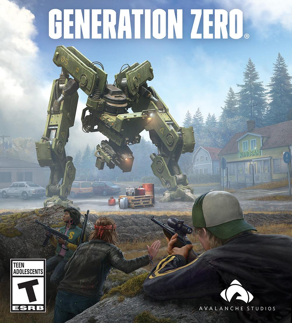 [零世代|官方中文|build 20190425|generation zero|免安装简体中文