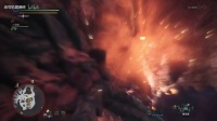 《怪物猎人世界》闪光大剑上位火龙演示
