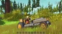 抽风解说《废品机械师》幼儿园级美感的农用拖拉机