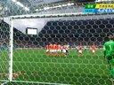 [射门]梅西任意球射穿人墙 西莱森倒地没收 140710
