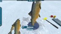《冰湖钓鱼》树枝钓鱼法视频分享