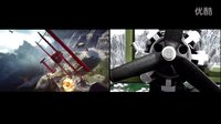 【游侠网】《战地1》预告片原版和乐高版对比