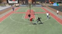 《NBA2K19》扣篮和运球动作