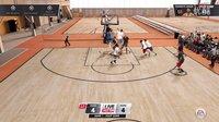NBA LIVE 16 街头篮球模式 试玩