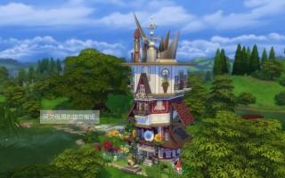 【模拟人生4】The Sims4每周猎奇--疯帽子的家速建