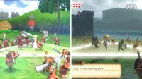 《塞尔达无双》新旧3DS运行画面对比