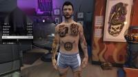 《侠盗猎车手5》线上模式全部纹身欣赏
