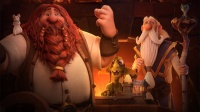 """《炉石传说》最新动画短片""""炉石与家""""中文创作记录片"""