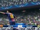 实况足球2013欧冠巴塞罗那VS皇家马德里半决赛