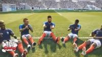 《实况足球2019》和fifa2019实际游戏对比视频