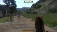 《天国拯救》如何利用马匹在出新手村时剿灭追兵