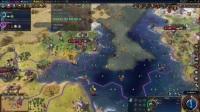 《文明6迭起兴衰》朝鲜神标无战223T飞天胜利5