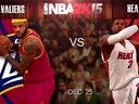 NBA 2K15圣诞大战-热火VS骑士