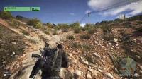 《幽灵行动:荒野》刷资源技巧演示视频 2.同步射击演示