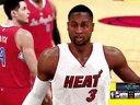 NBA 2K15 快船VS热火 第二节