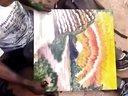 【Youtube奇趣精选】街头艺人随手涂鸦 看到最后惊呆了 大师啊