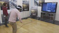 PlayStation VR体验高空走钢丝
