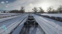 《极限竞速:地平线4》冬季表演赛事:苏格兰飞人蒸汽机车