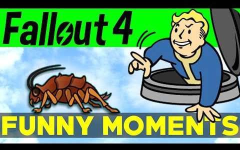Fallout 4 Funny Moments - EP.1 辐射4-有趣时刻 #01